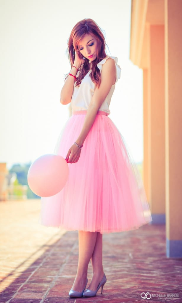 pink, pink tulle skirt, elisa bellino, theladycracy.it, fashion blog italia, ç