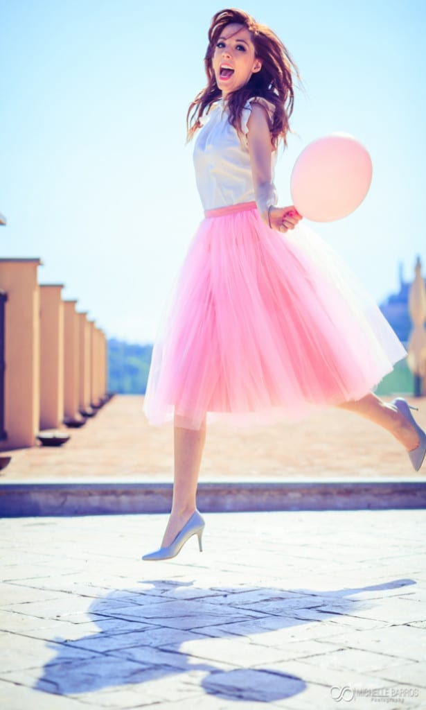 pink, pink tulle skirt, elisa bellino, theladycracy.it, fashion blog italia,-