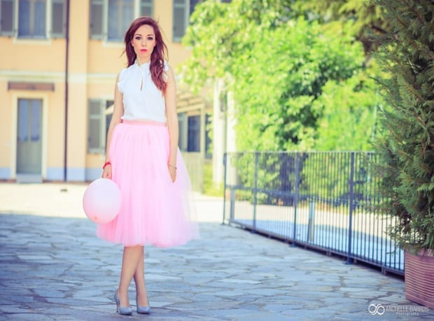 pink, pink tulle skirt, elisa bellino, theladycracy.it, fashion blog italia, _