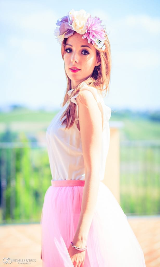 pink, pink tulle skirt, elisa bellino, theladycracy.it, fashion blog italia,fashion iutfit