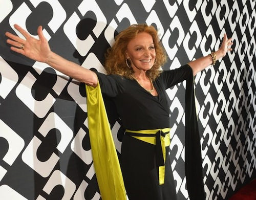 Diane Von Furstenberg's Journey Of A Dress Exhibition Opening Celebration - Red Carpet