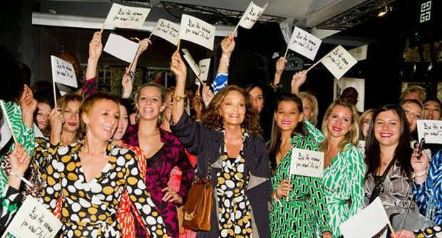 I 40 anni del Wrap -dress firmato Diane von Furstenberg
