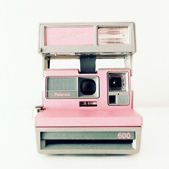 pink polaroid