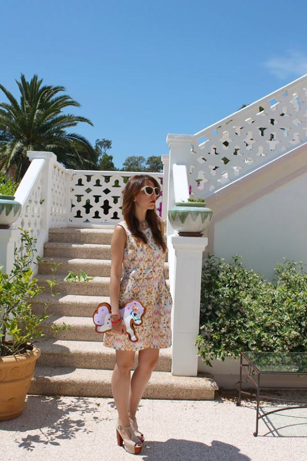 vacanze di lusso in costa azzurra, hotel lusso costa azzurra, shirtaporter, horse bag, best outfit, luxury dress, white long dress, montecarlo,outfit, tarina tarantino, red hair, hm dress, tropical trend, flower dress, fashion bloggers, fashion blog milano, black long dress, bathtube shooting, theladycracy, elisa bellino, sparkling make up, glitter, outfit of the week,  outfit of the day