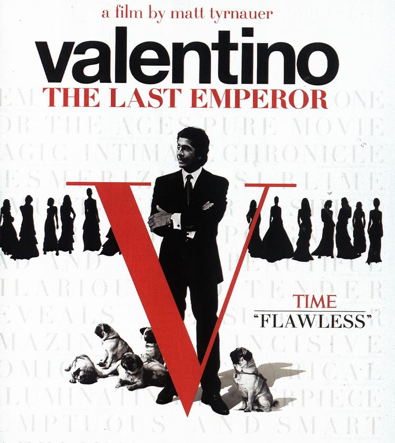 Valentino the last emperor, valentino garavani film, theladycracy, best fashion movie, fashion movie, i più bei film di moda, film moda