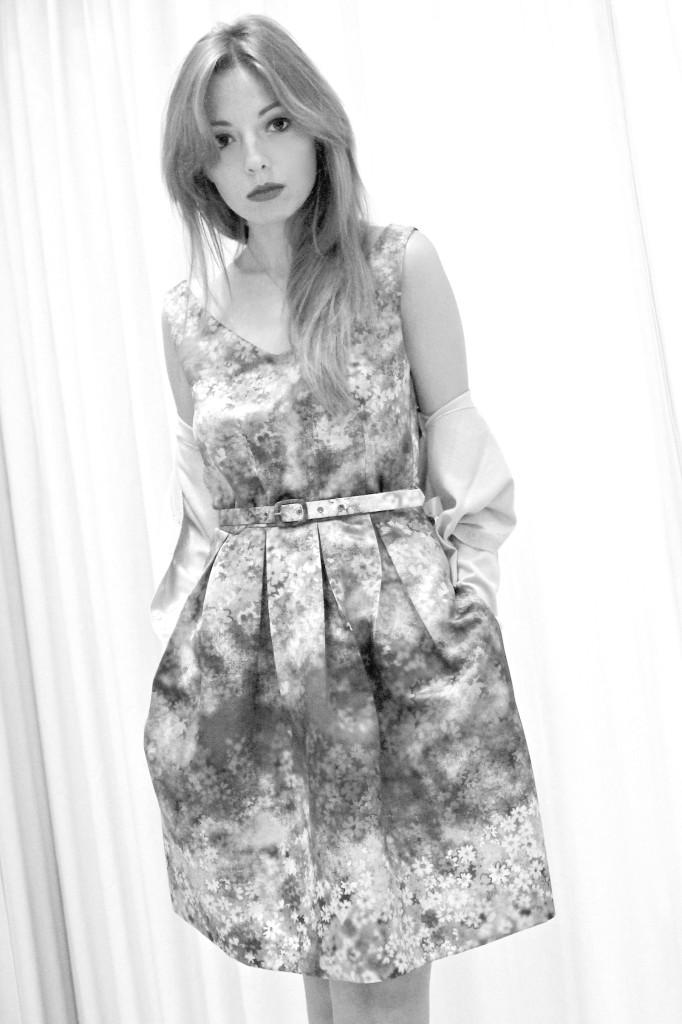 floral dress, twin set simona barbieri, impressionisti, monet storia, monet frasi, total look twin set, flora print, elisa bellino, theladycracy, fashion blogger milano, fashion blog. fashion, floral outfit, scarpe twin set,