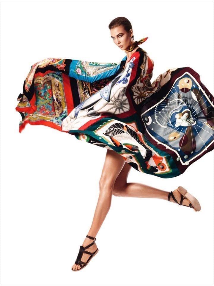 foulard, gavroche foulard, come portare i foulard, hermes foulard, elisa bellino, theladycracy,