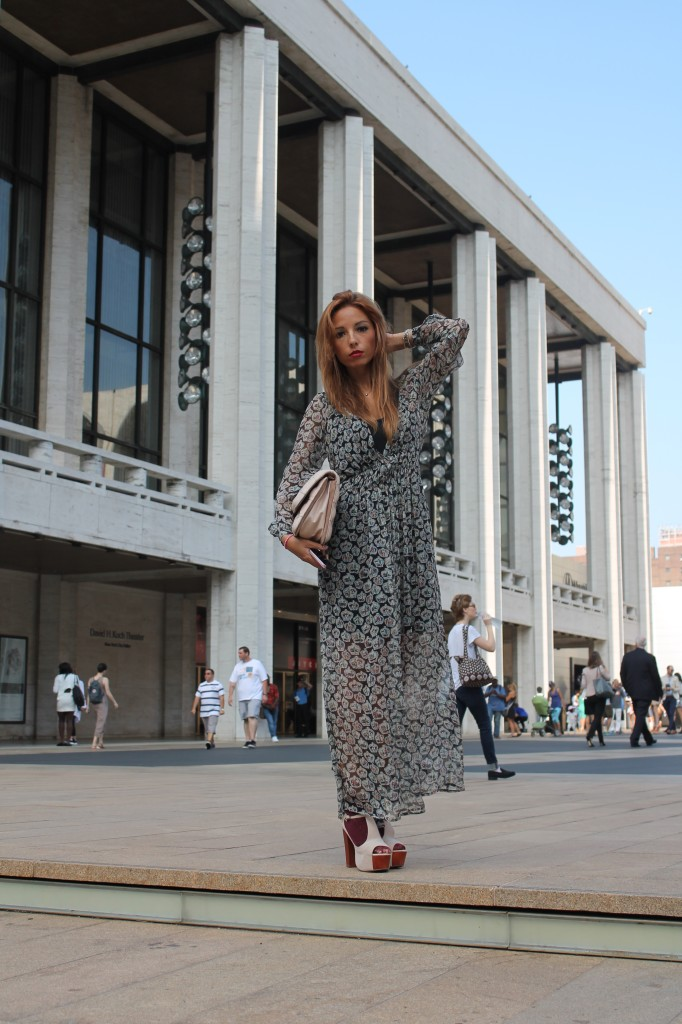 new york ,elisa bellinonew york, elisa bellino, the ladycracy, fashion week outfit,  new york fashion week 2015, shirt a porter dress, benedetta bruzziches bag, jeffrey campbell shoes, La mia New York fashion week #NYMBFW SS2015