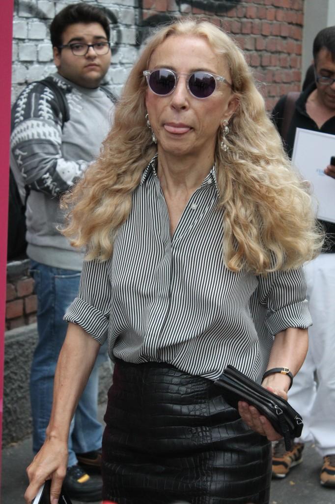 franca sozzani, fendi, franca sozzani, look franca sozzani, franca sozzani pernacchia,vogue, theladycracy, elisa bellino, street style