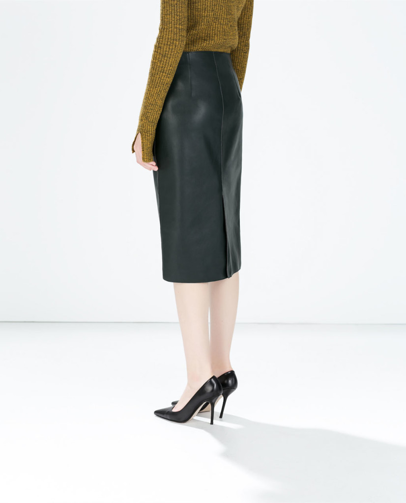 must have low cost,,Zaino Topshop,Ecopelliccia H&M, fashion must have, fall winter 2015 fashion trends, elisa bellino, theladycracy, black skirt, longuette leather,