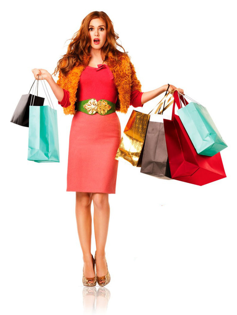 i love shopping, carrie bradshow, sarah jessica parker, best fashion movie, theladycracy, elisa bellino,