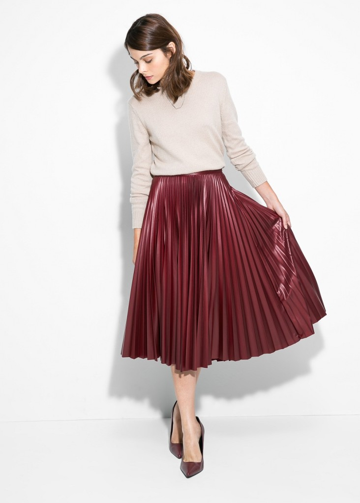 must have low cost, Mango,Zaino Topshop,Ecopelliccia H&M, fashion must have, fall winter 2015 fashion trends, elisa bellino, theladycracy, eco skirt, midi skirt