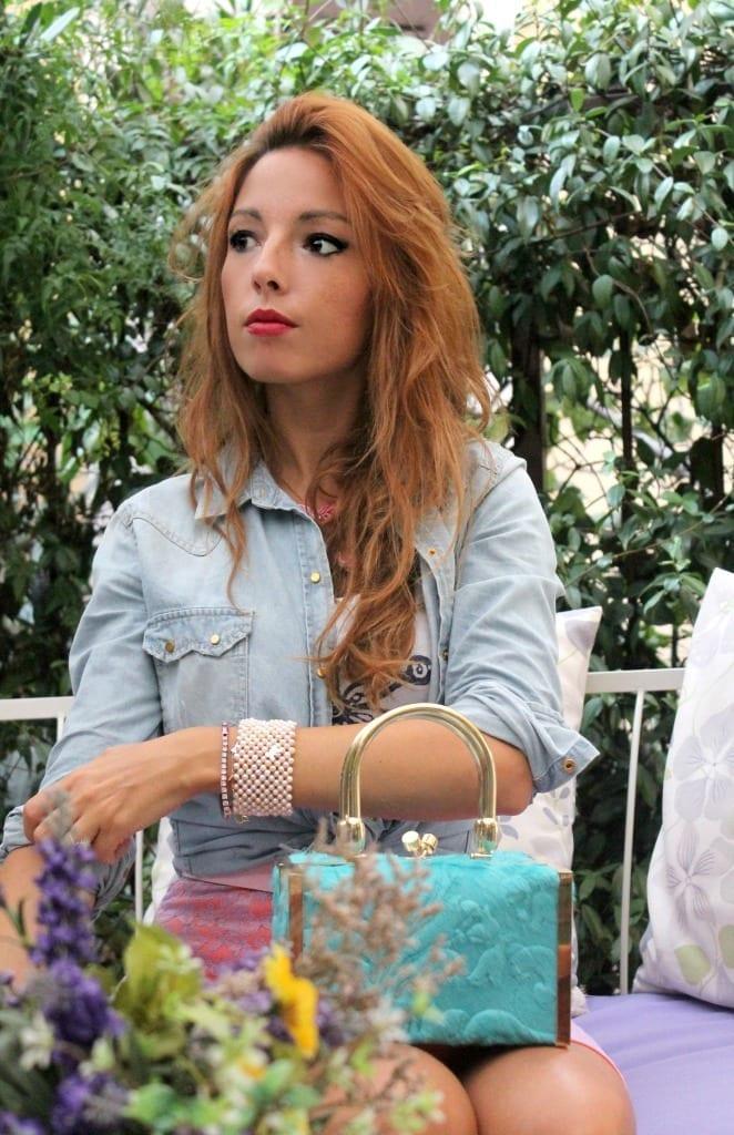 vitussi bag, made in italy bag. elisa bellino, fashion blog, asos skirt, pink lace skirt, theladycracy, milano fashion bloggers, fashion blog, fashion trends, manuela caminada, luxury bag