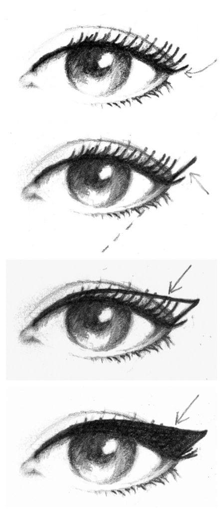 Come mettere eyeliner for Easy blueprint maker