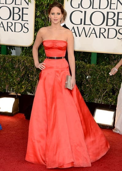 Jennifer Lawrence, Dior Haute Couture (Golden Globes 2014), www.theladycracy.it, best dress 2014,  celebrities style