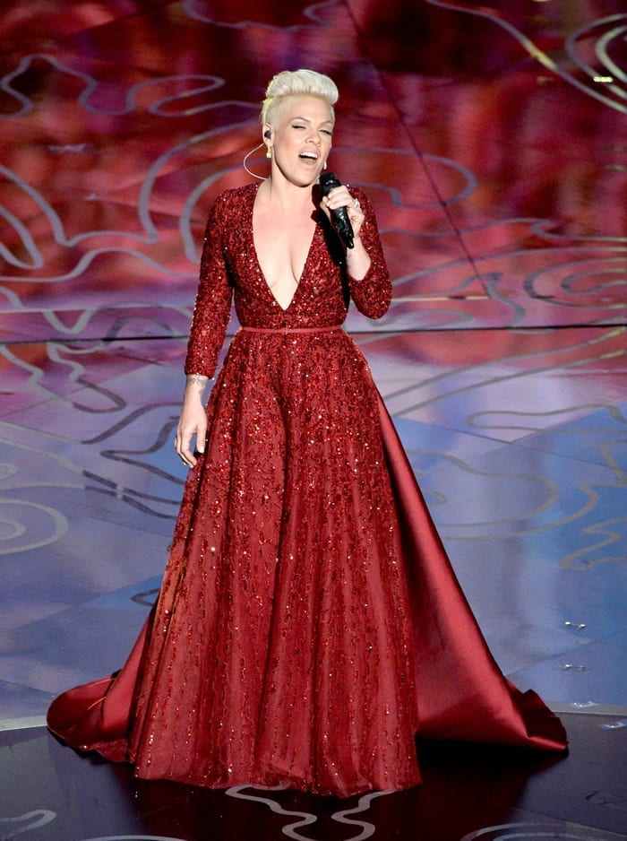 Pink-Oscars-2014-Elie-Saab-Couture-Dress, www.theladycracy.it, best dress 2014, celebrities style,