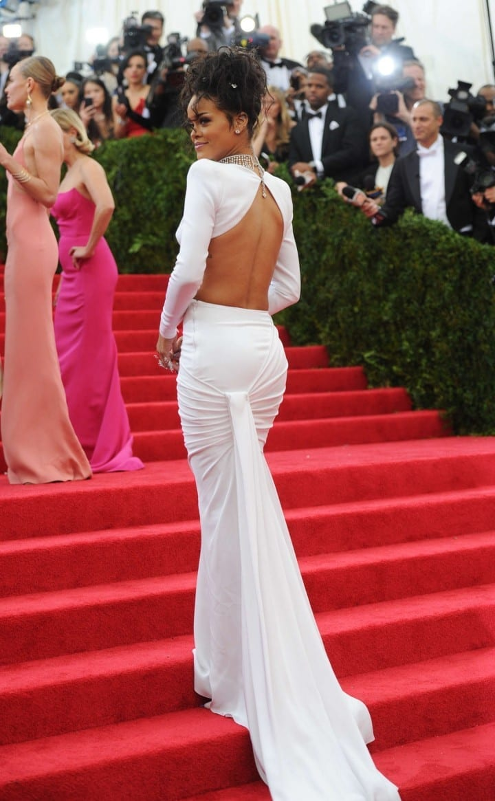 rihanna met gala 2014 www.theladycracy.it