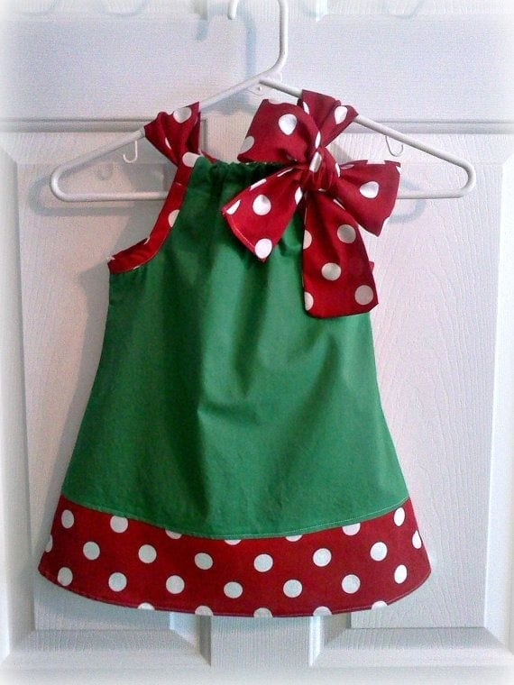 christmas gift idea baby dress www.theladycracy.it