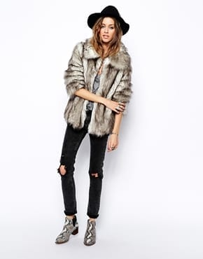 grey faux fur www.theladycracy.it