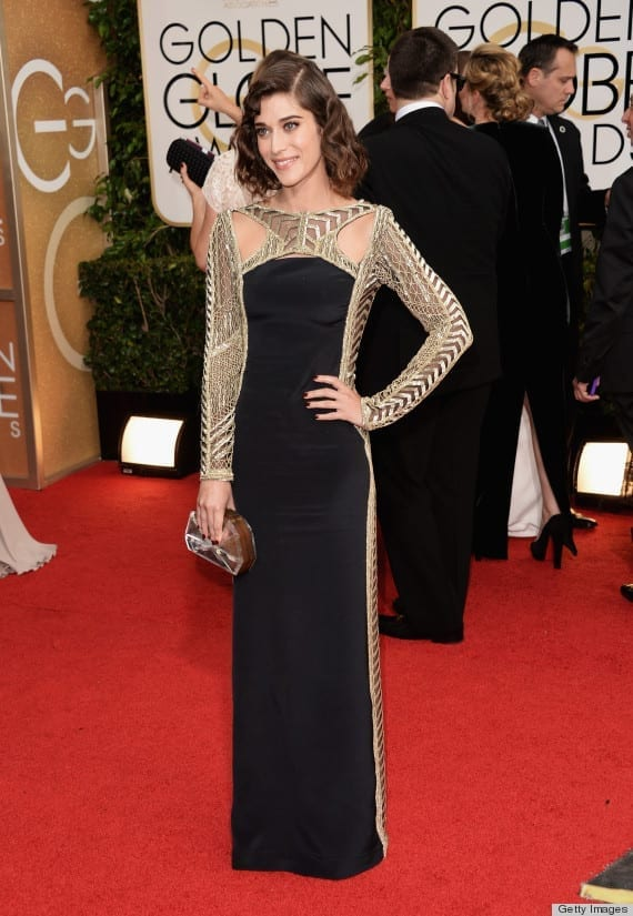 71st Annual Golden Globe Awards -Lizzy Caplan, Emilio Pucci (Golden Globes 2014), www.theladycracy.it, best dress 2014,