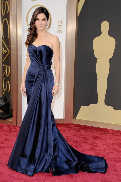 oscars-2014-best-dressed-dames,Sandra Bullock, Alexander McQueen, www.theladycracy.it, best dress 2014, celebrities style