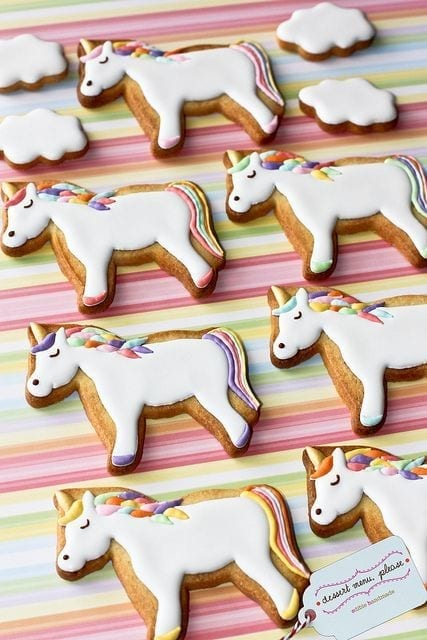 unicorn biscuits christmas time www.theladycracy.it