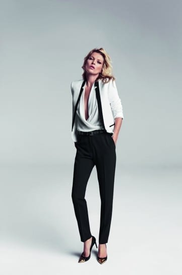kate-moss-per-mango-con-pantaloni-neri,il guardaroba perfetto, elisa bellino, theladycracy.it, fashion blogger italia
