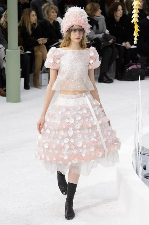 paris haute couture, fashion news, best fashion dress 2015, luxury dress, chanel haute couture ss 2015, www.theladycracy.it, flower dress