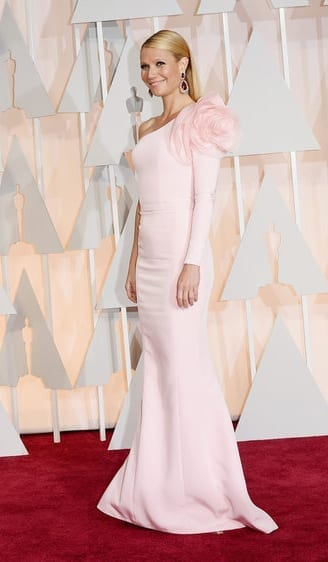 gwynethpaltrow-oscar2015, ralph&russo,theladycracy.it , vestiti da red carpet, the worst dressed , celebrity style, oscar 2015 dresses,