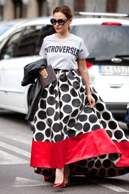 pois, lauren-bacall, polka dot, spring trends 2015, elisa bellino, theladycracy.it, fashion blog italia,.
