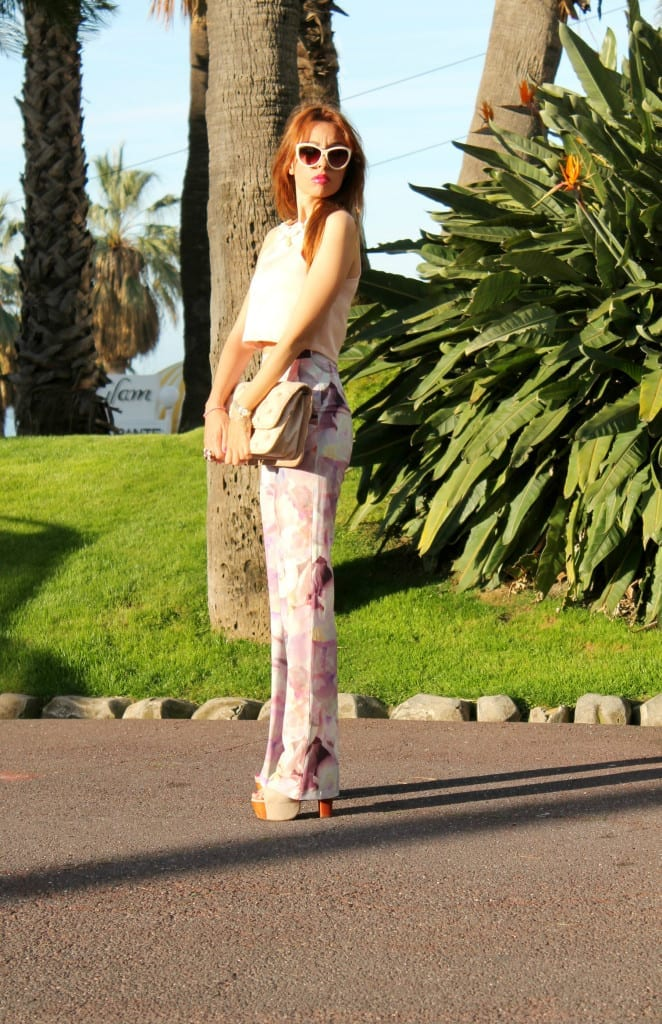 professione blogger, fashion editorial, fashion outfit asos , pantaloni palazzo, flare pants , seventies look, elisa bellino, theladycracy.it