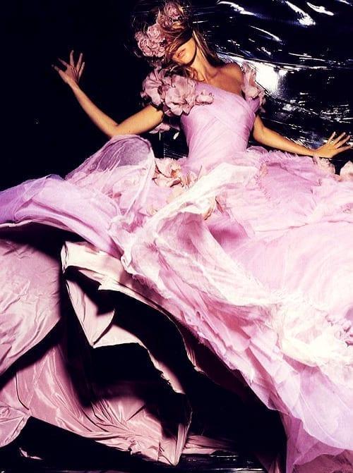 Gisele Bündchen, wonderful pink dress