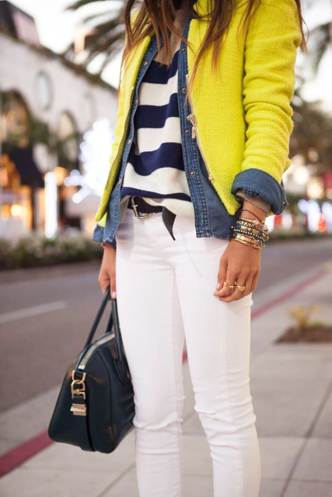 stile marinaretta, stile sailor, yellow trend, white pants, maglia a righe,Chanel 2015 stripes, come vestire alla moda, elisa bellino, fashion blog italia, fashion blogger italia, best fashion blog italy, theladycracy.it