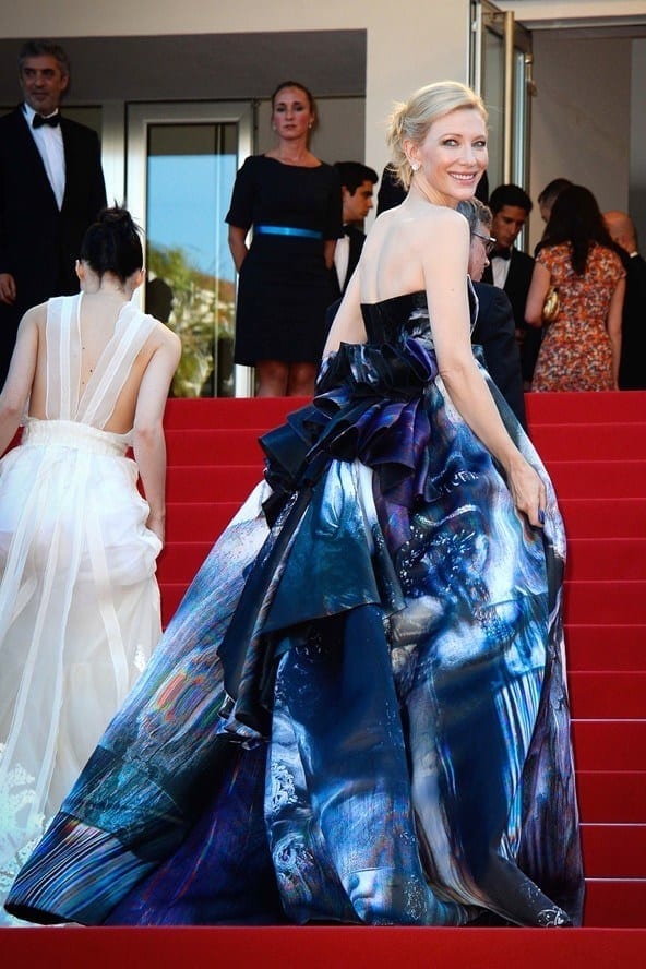 Cate Blanchett festival cannes 2015 Giles dress, theladycracy.it