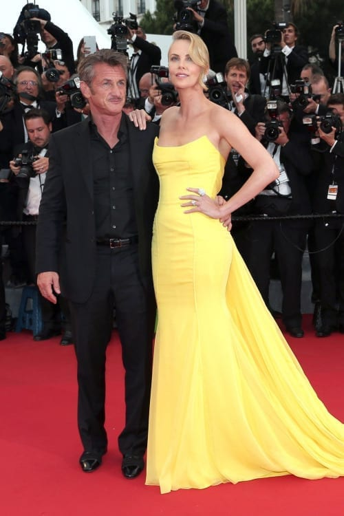 Charlize Theron Sean Penn festival cannes 2015, Christian Dior theladycracy.it