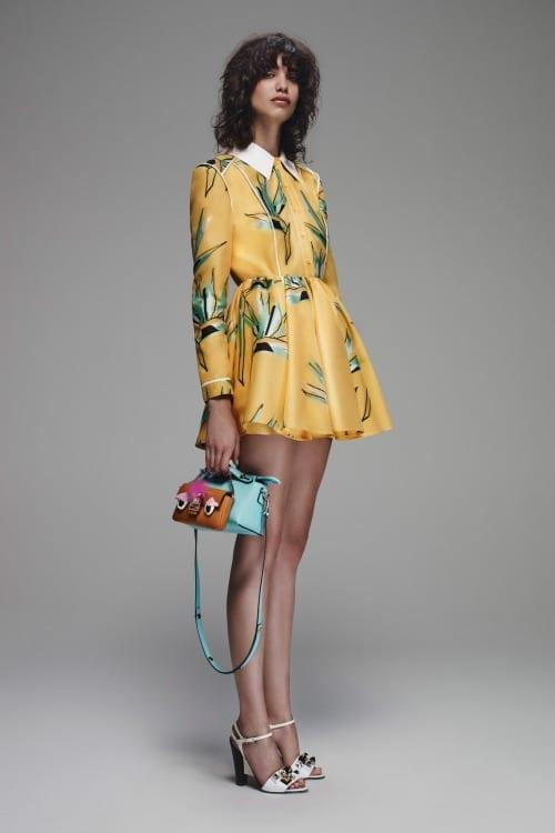Fendi, come abbinare il giallo, fendi dress, theladycracy.it