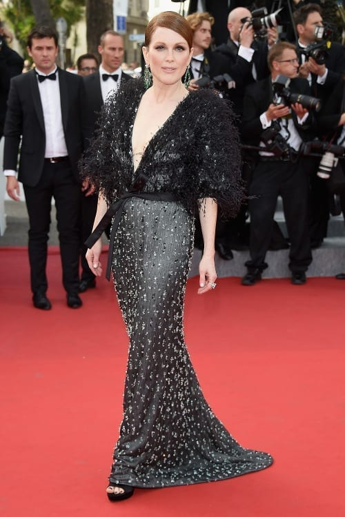 Julian Moore cannes 2015, Armani privé dress, theladycracy.it