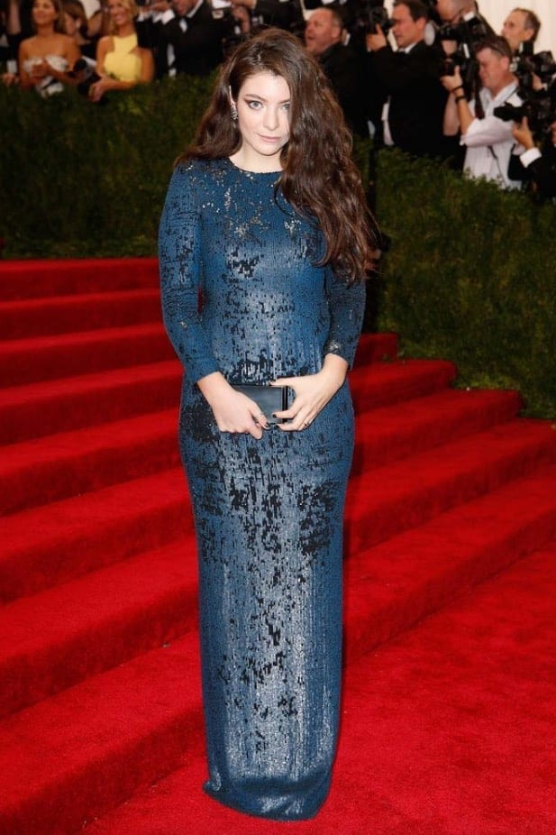 Lorde Met Bal 2015