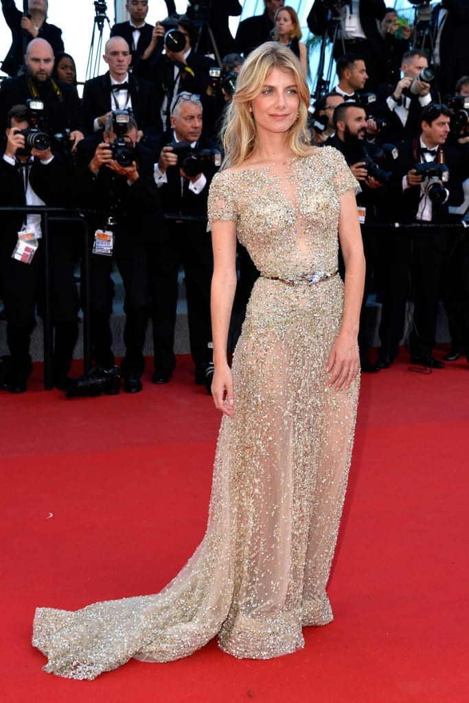 Melanie Laurent elie saab cannes 2015