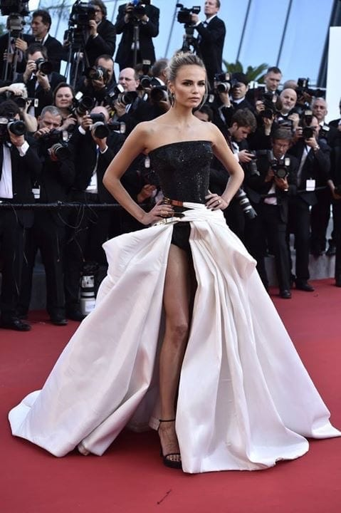 Natasha Poly super model russian cannes 2015 Atelier Versace