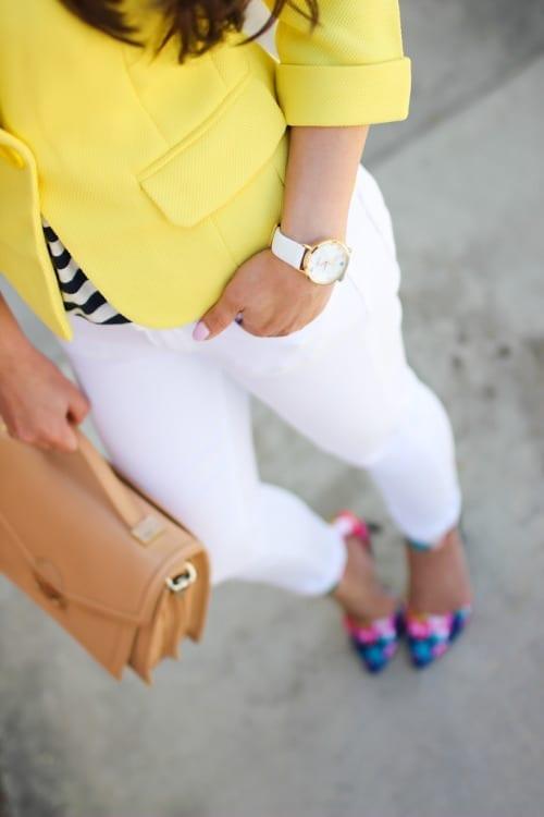 come abbinare il giallo, how to wear yellow, yellow blazer