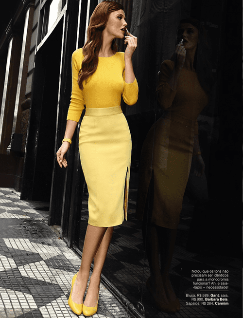 come abbinare il giallo outfit, theladycracy.it