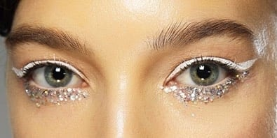 glitter sparkly make up,make up occhi, elisa bellino, fashion blog italia, fashion blogger italia
