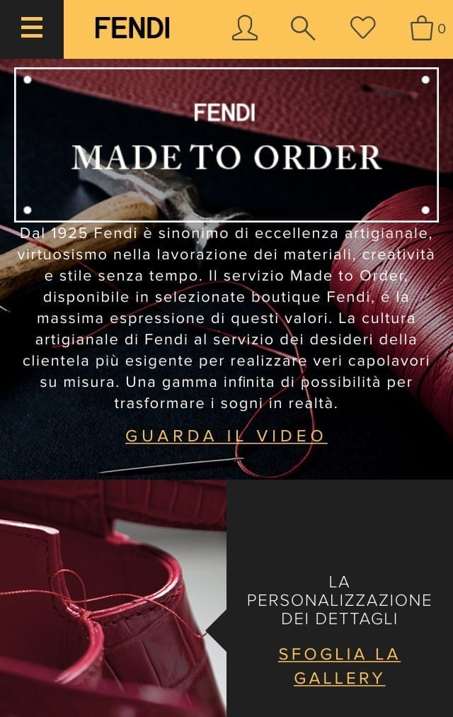 made to measure business, customizzare, fashion news, fashion radar, fashion trends, theladycracy.it , fendi personalizzata
