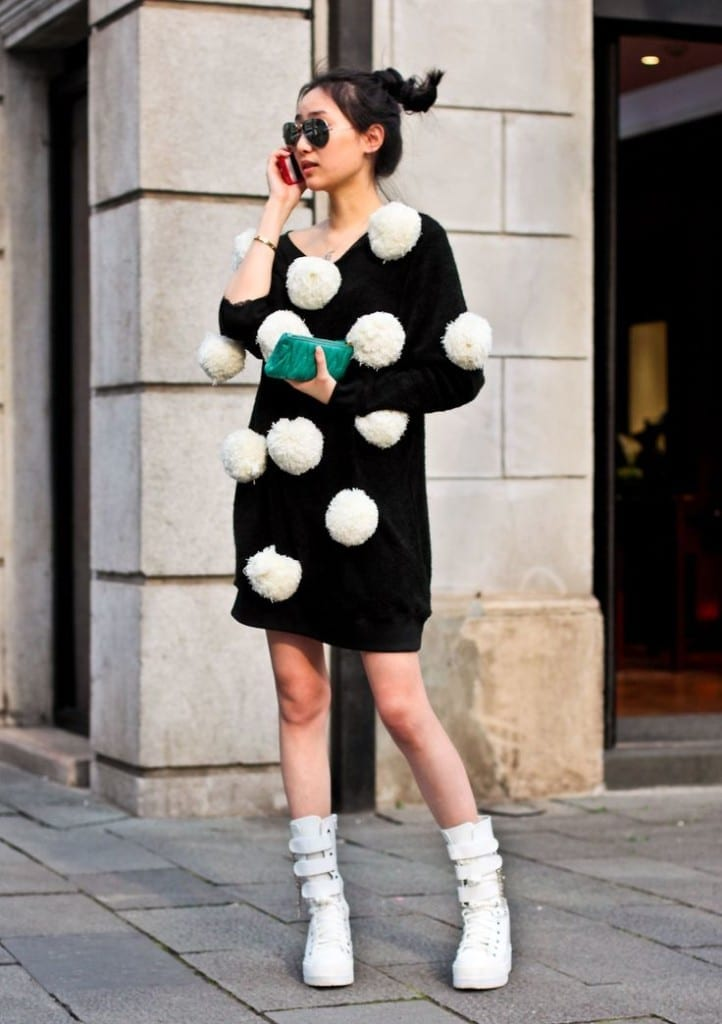 pom pom dress, tentazioni fashion, theladycracy.it, top fashion blogger italiane, tendenze moda 2016, fashion blog italia,