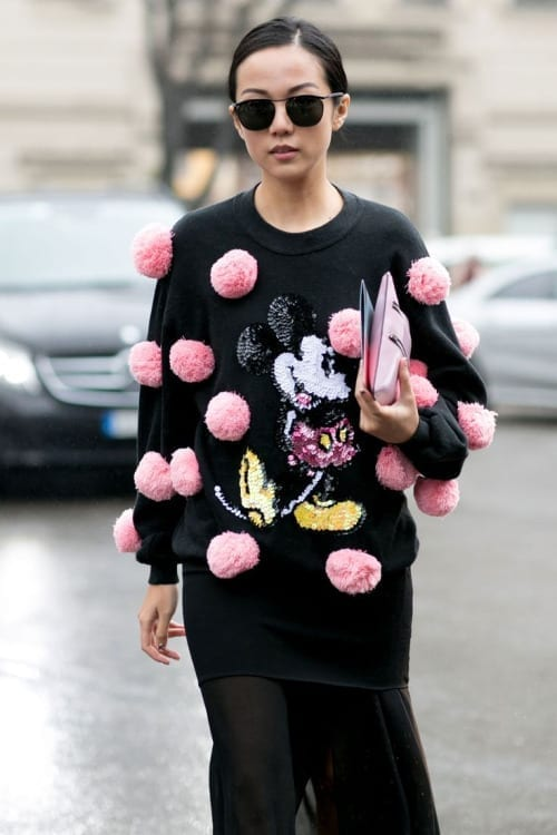pom pom fashion trend, tentazioni fashion, theladycracy.it, tendenze moda 2016, maglia pom pom, vestirsi alla moda, fashion blogger italia
