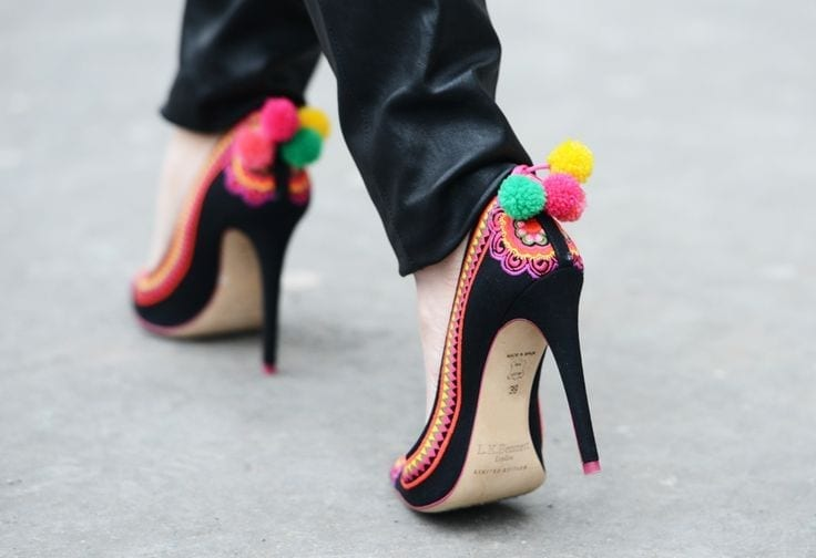 pom pom shoes, tentazioni fashion, theladycracy.it, tendenze moda 2016, elisa bellino, fashion blogger italiane