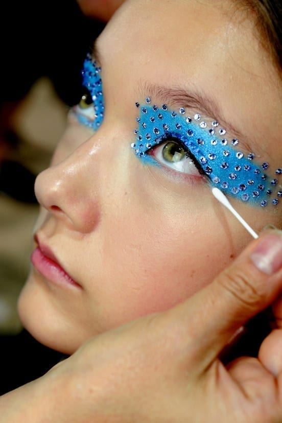 strass make up eyes,sparkly make up,make up occhi, elisa bellino, fashion blog italia, fashion blogger italia