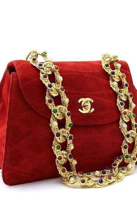 chanel red vintage bag, best vintage shopping www.theladycracy.it,Shopping vintage, dove comprare vintage online, theladycracy.it, elisa bellino, fashion blog italia, fashion blogger italia,