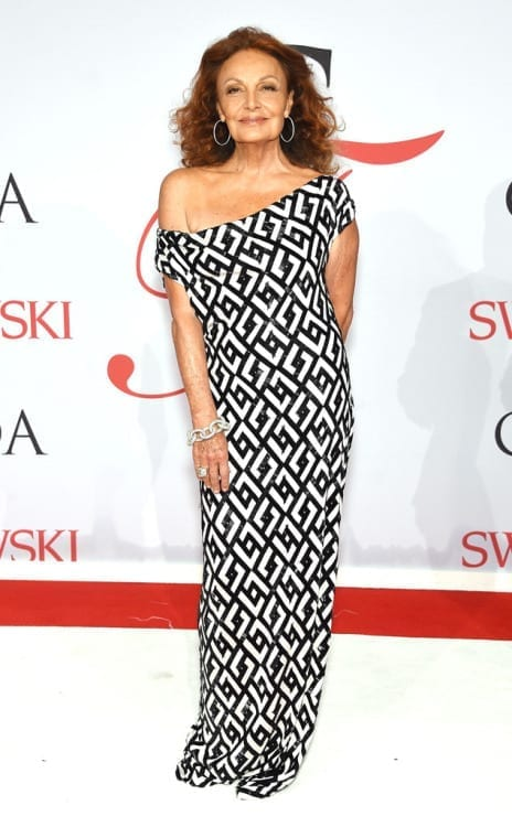 Diane von furstemberg, cfda2015, theladycracy.it